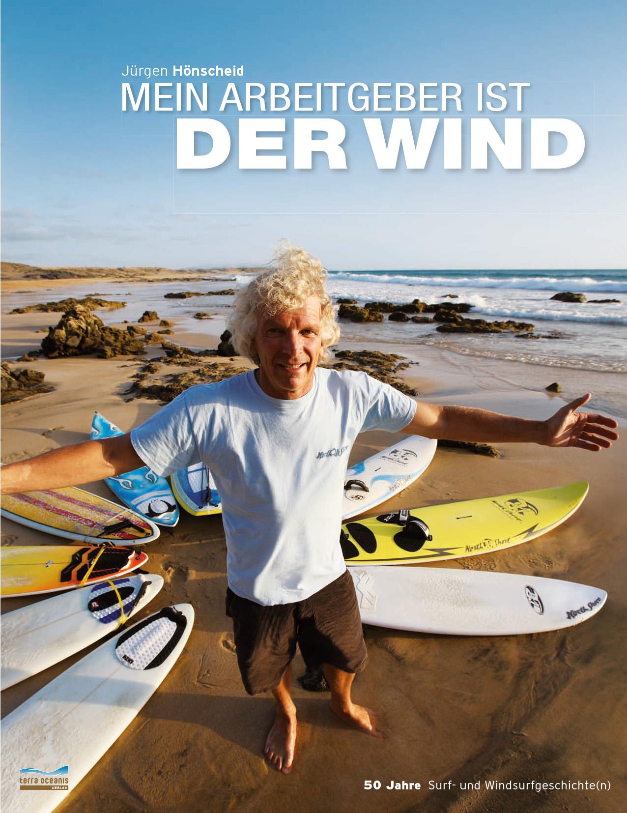 Mein Arbeitgeber ist der Wind von Jürgen Hönscheid