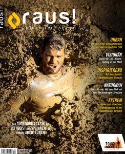 RAUS! Magazincover
