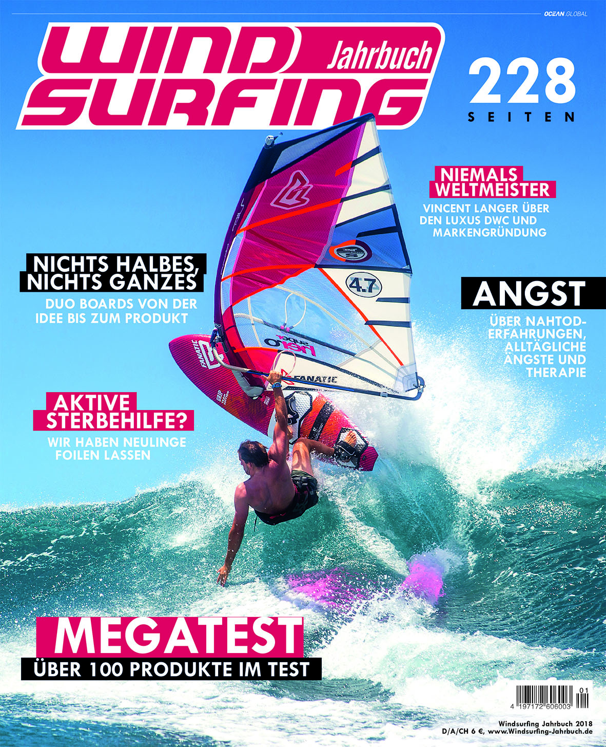 Windsurfing Jahrbuch 2017 / 2018 : Ocean.Global